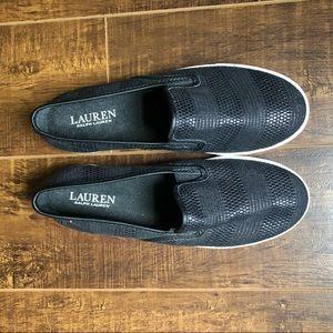 Lauren Ralph Lauren Sz 7.5 slip on shoes